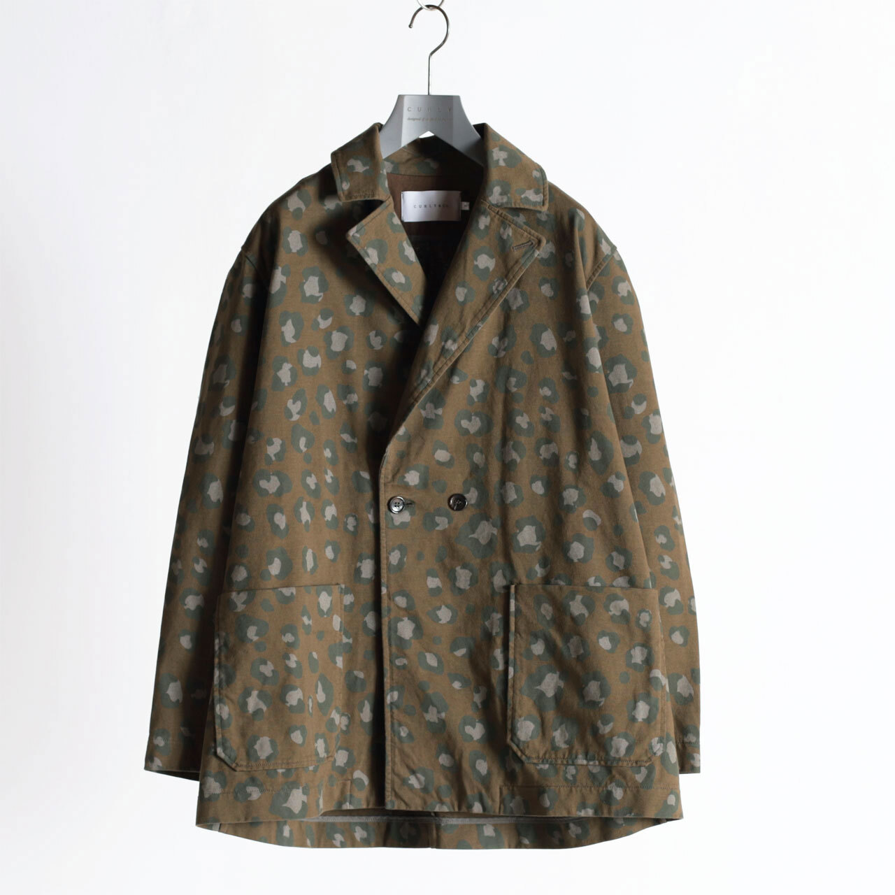 """CURLY&Co./DELIGHT COAT """"Speckle Camo"""" with PAIN DELIGHIT"""
