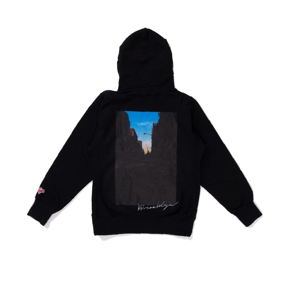 K'rooklyn Photo Hoodie × Koki Sato - Black
