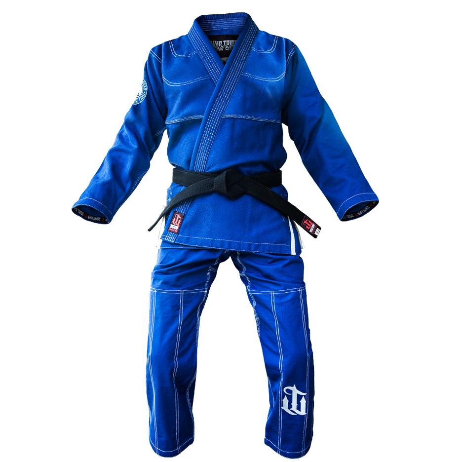 WAR TRIBE GEAR  Fundamentals Gi ブルー|ブラジリアン柔術衣(柔術着)