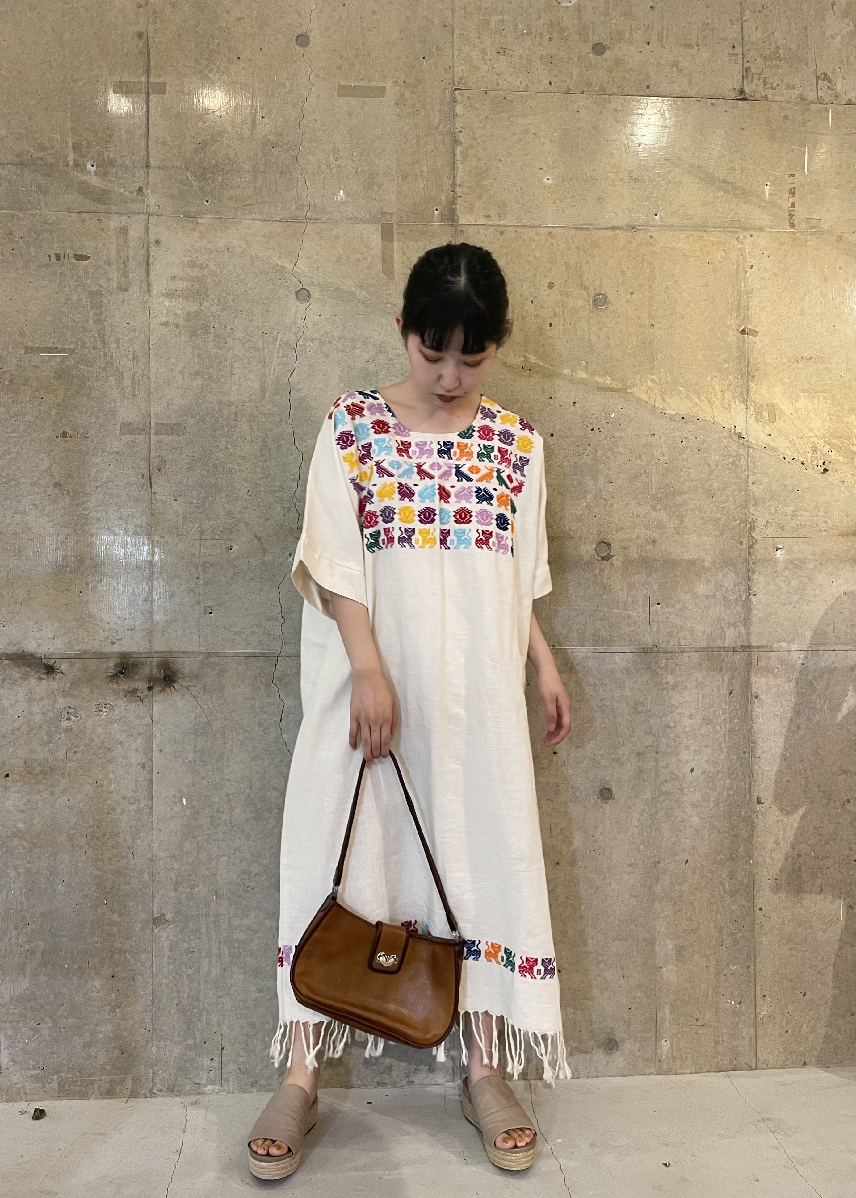 embroidery one-piece / 6SSOP27-12