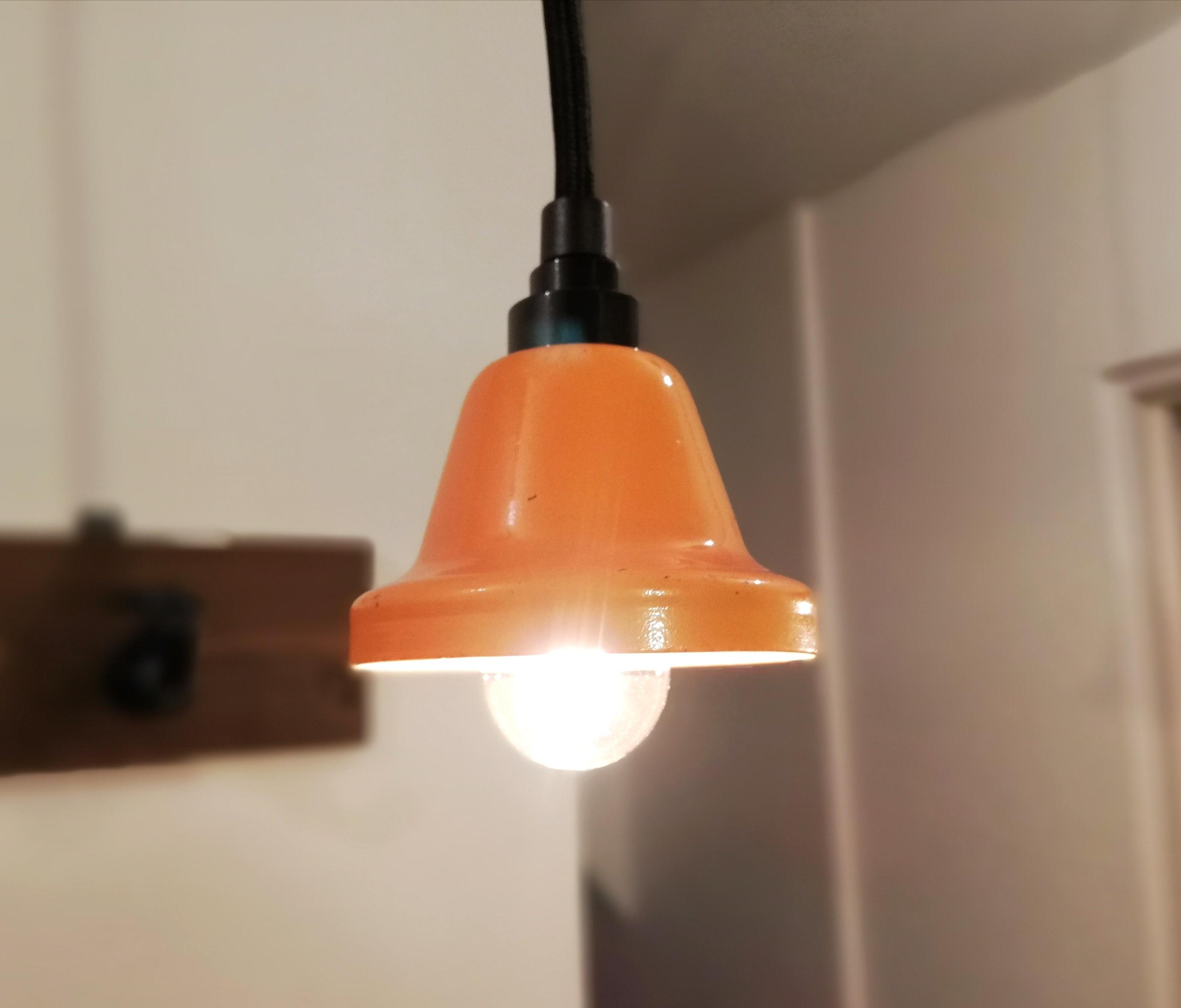Pendant Light「Music Bell」Orange
