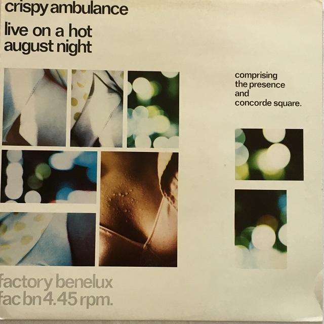 【12inch・英盤】Crispy Ambulance / Live On a Hot August Night