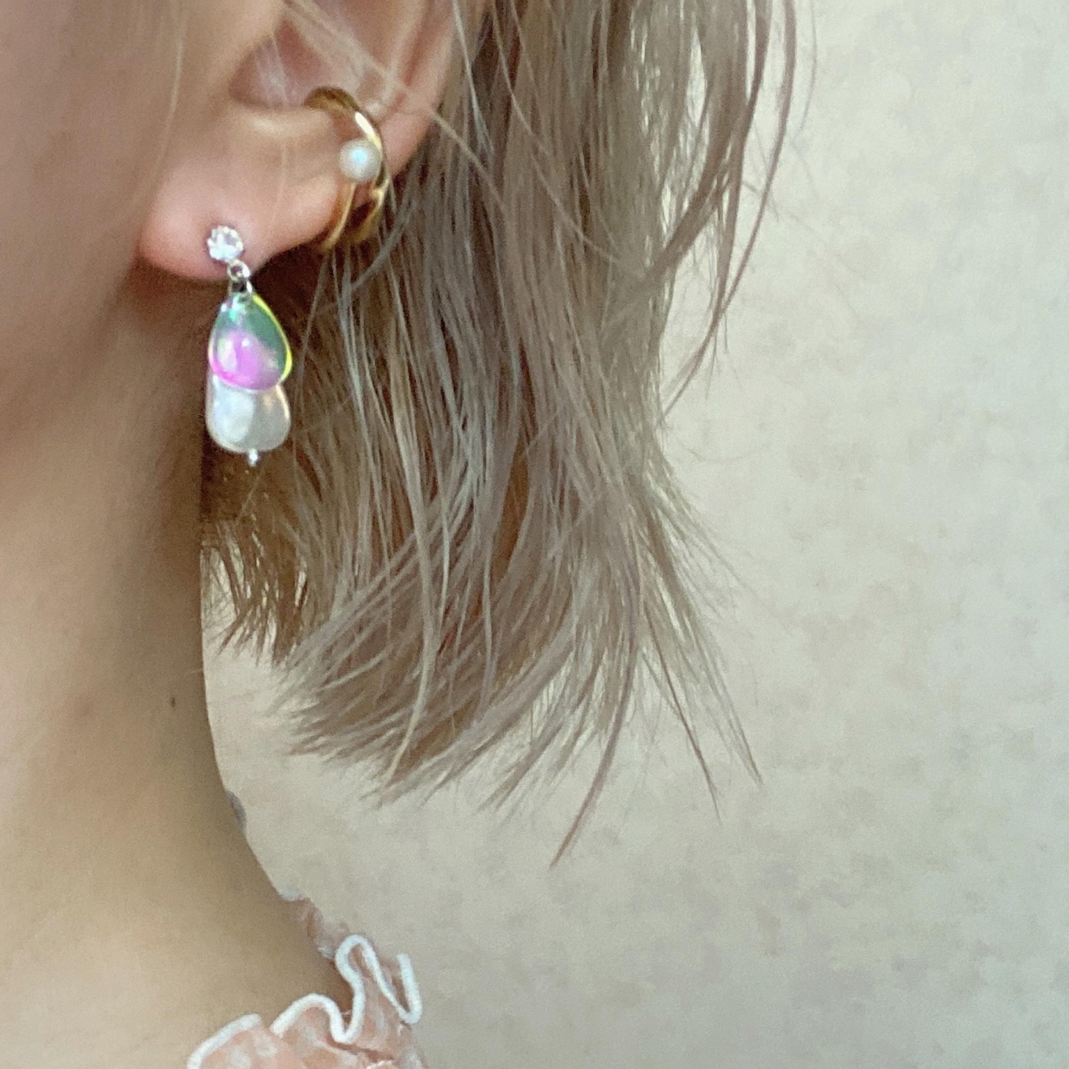 yurina double stone pierce