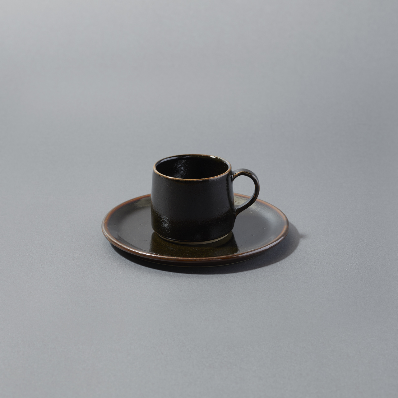 CUP&PLATE / BLACK