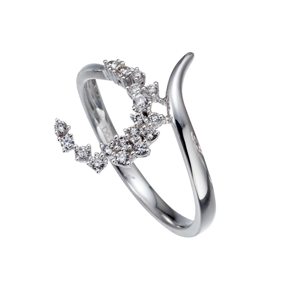 jewelG <Ladylook> リング K18/ダイヤモンド
