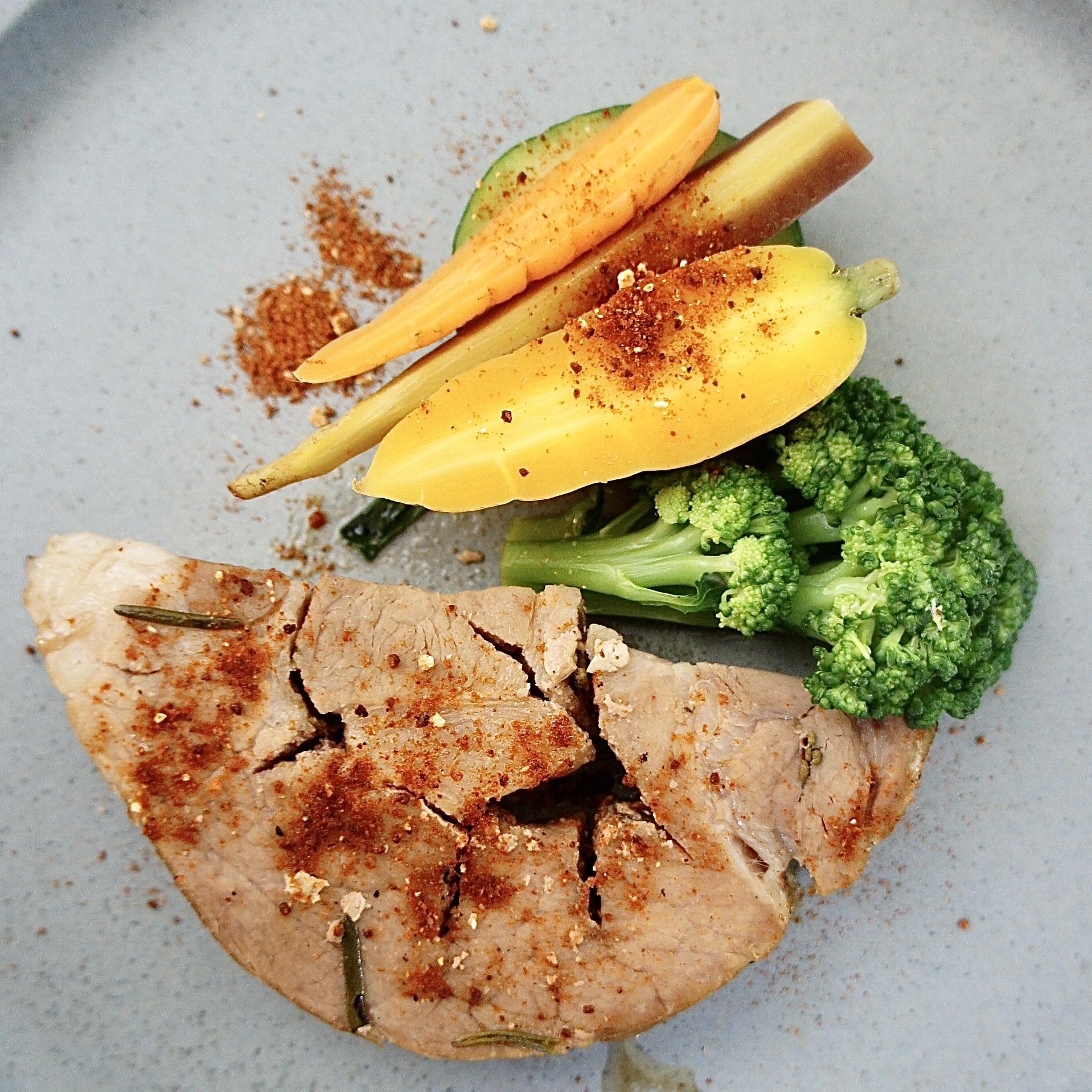7-8月オーガニックコース+お任せお魚料理+PIZZA
