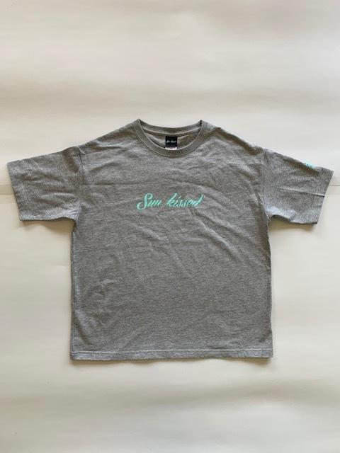 Sunkissed ビッグシルエット Tシャツ - ミックスグレー