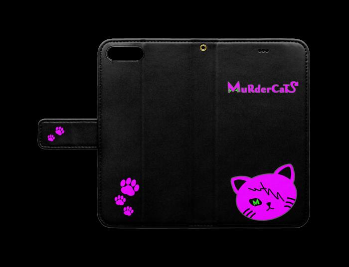 MuRderCaTs 手帳型iPhoneケースver.2