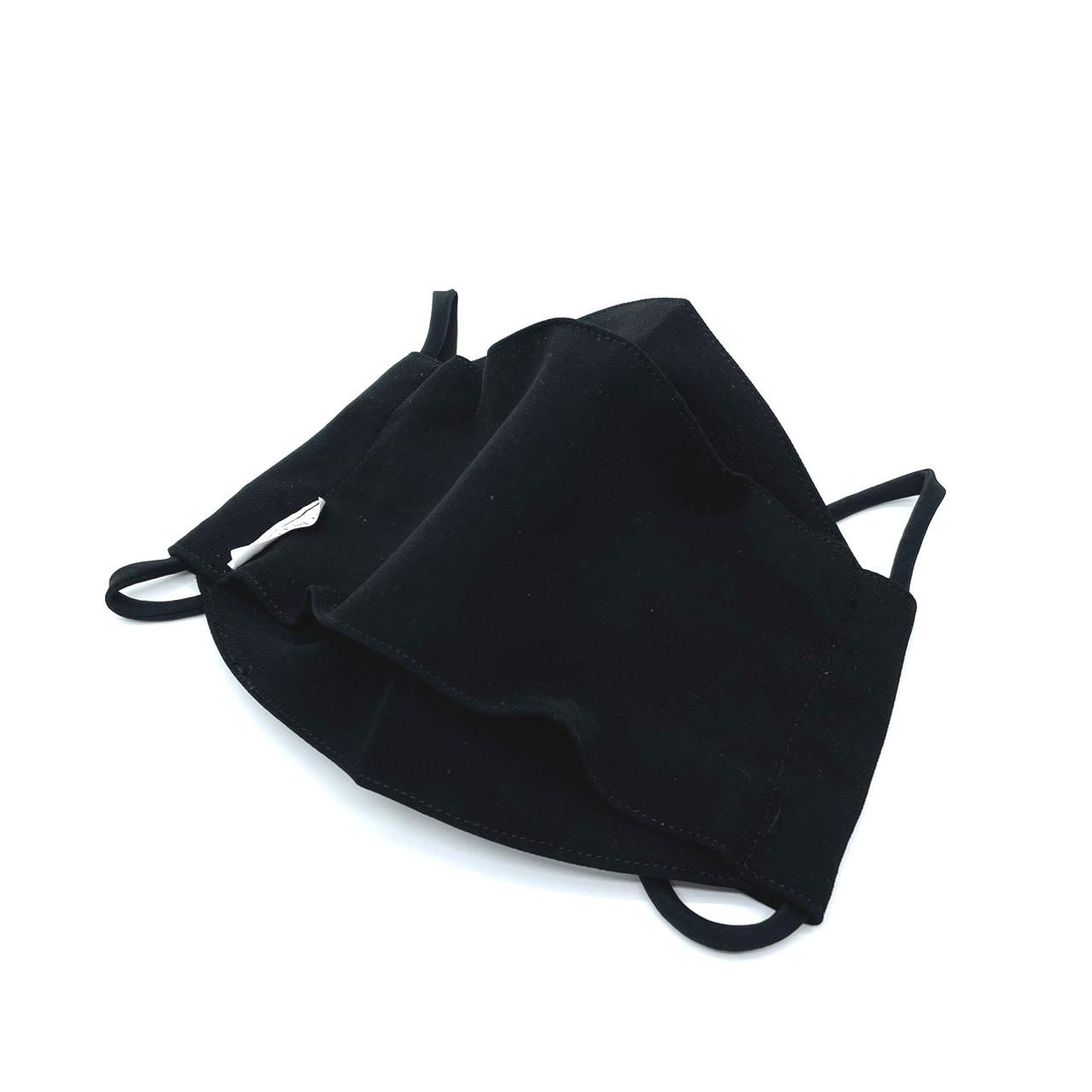 ⑦メガネが曇りにくく息がしやすいマスク【立体マスク】【フォーマルブラック】  [大人用]【全国送料無料】