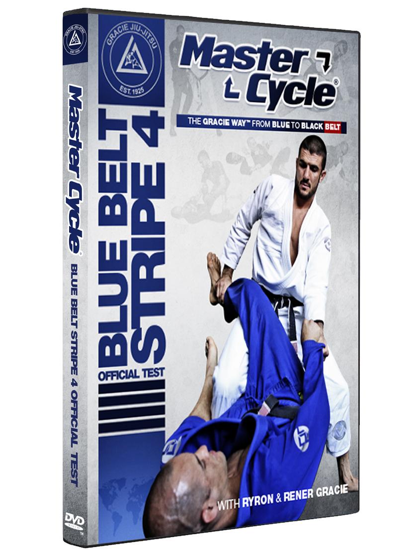 マスターサイクル:ブルーベルトストライプ4 オフィシャルテスト グレイシー柔術DVD