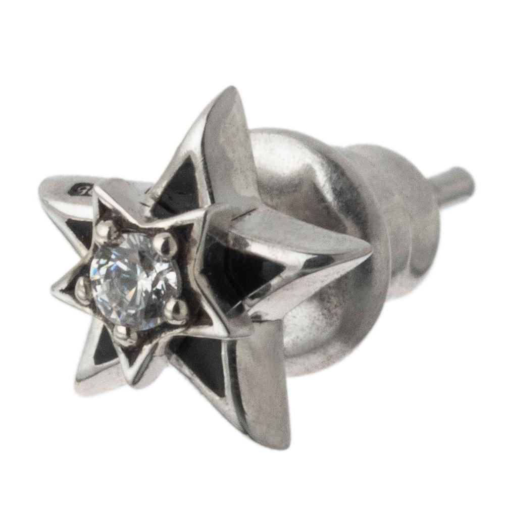 ダブルスターピアス ACE0167 Double star earrings