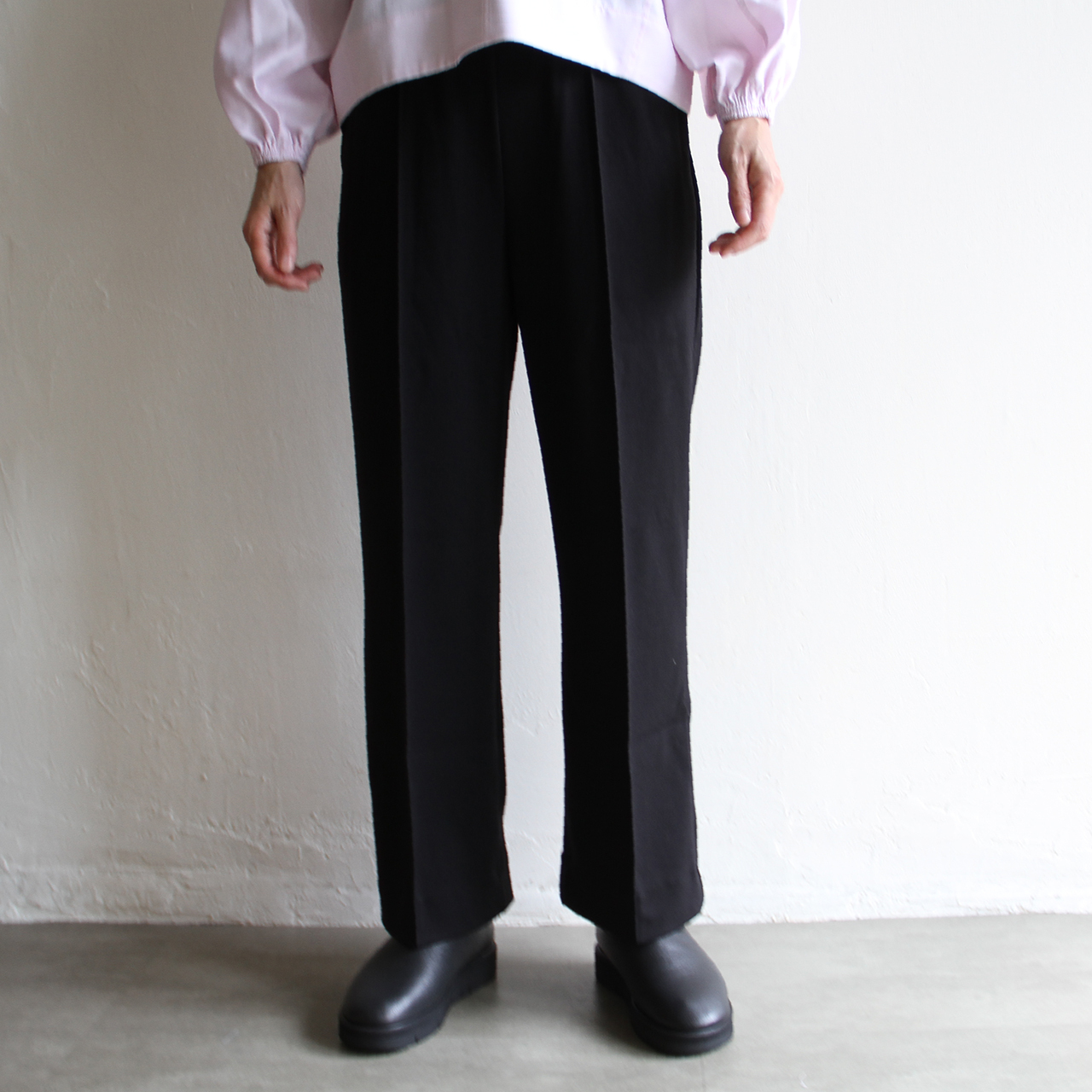 YOUNG&OLSEN  【 womens 】french jersey trouser