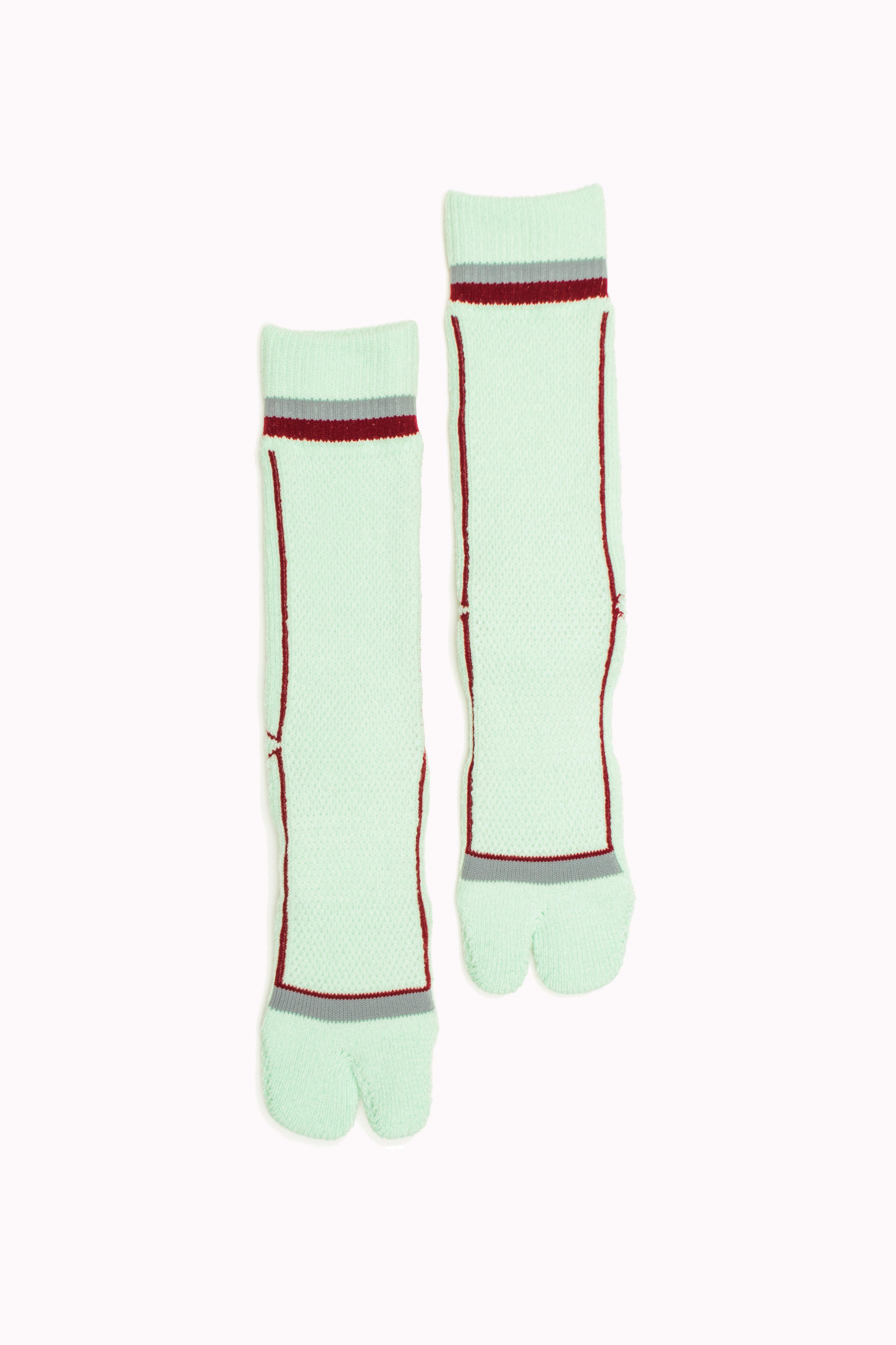 Pile&Mesh Socks(Lime Mint)