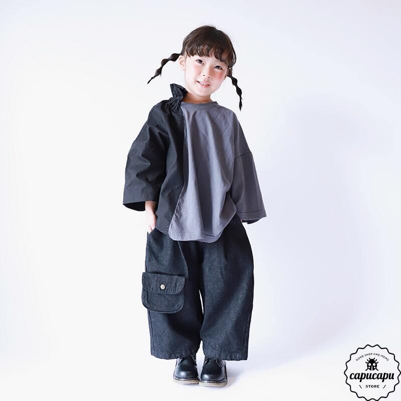 «sold out»«Jr.サイズ» dressmonster high neck drape tops 2colors JS JM JL