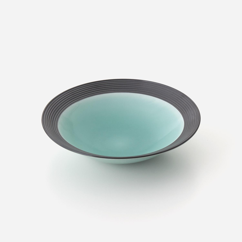 No.121 青磁黒彩 鉢