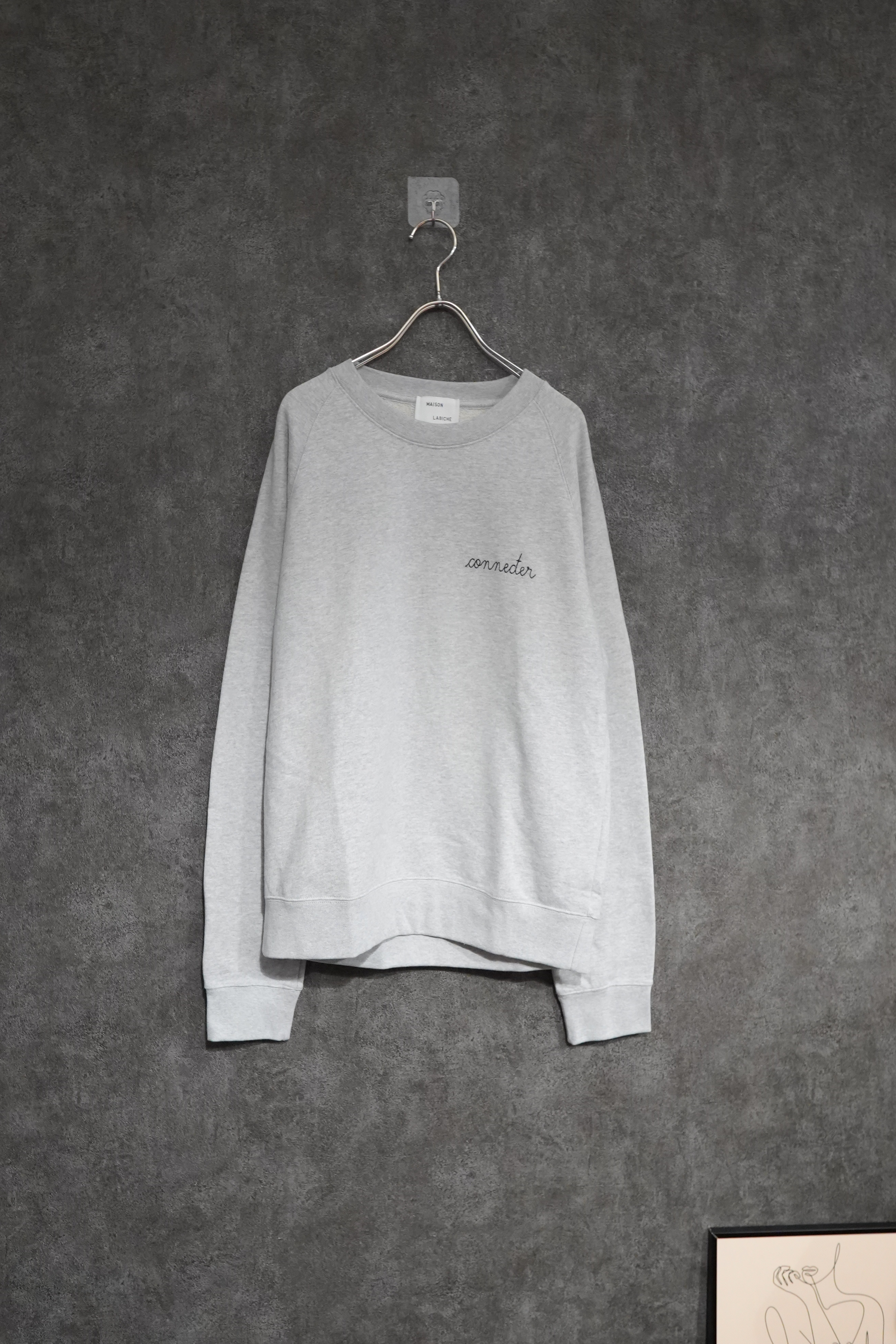 【winter Special price】 MAISON LABICHE  ×Connecter Tokyo Embroidery  sweat by Mister president
