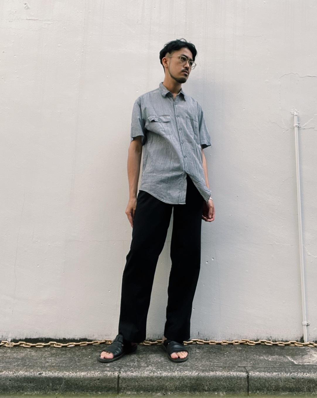 (SH149)Calvin Klein jeans gingham checked shirt