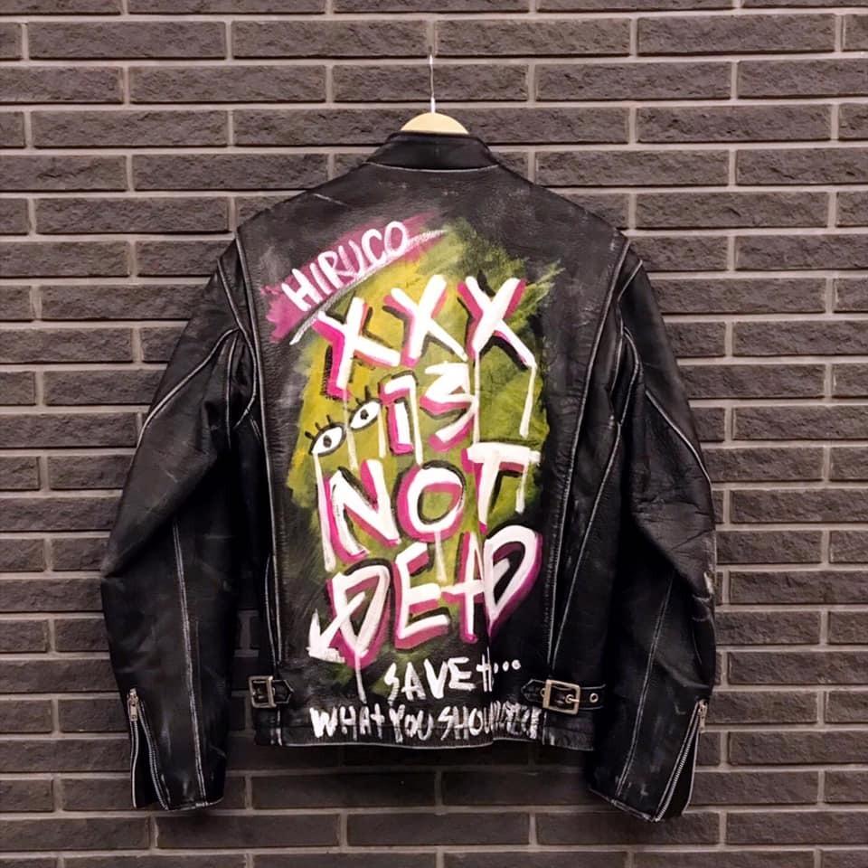 Art On Clothing / Riders Jacket【WER-002】