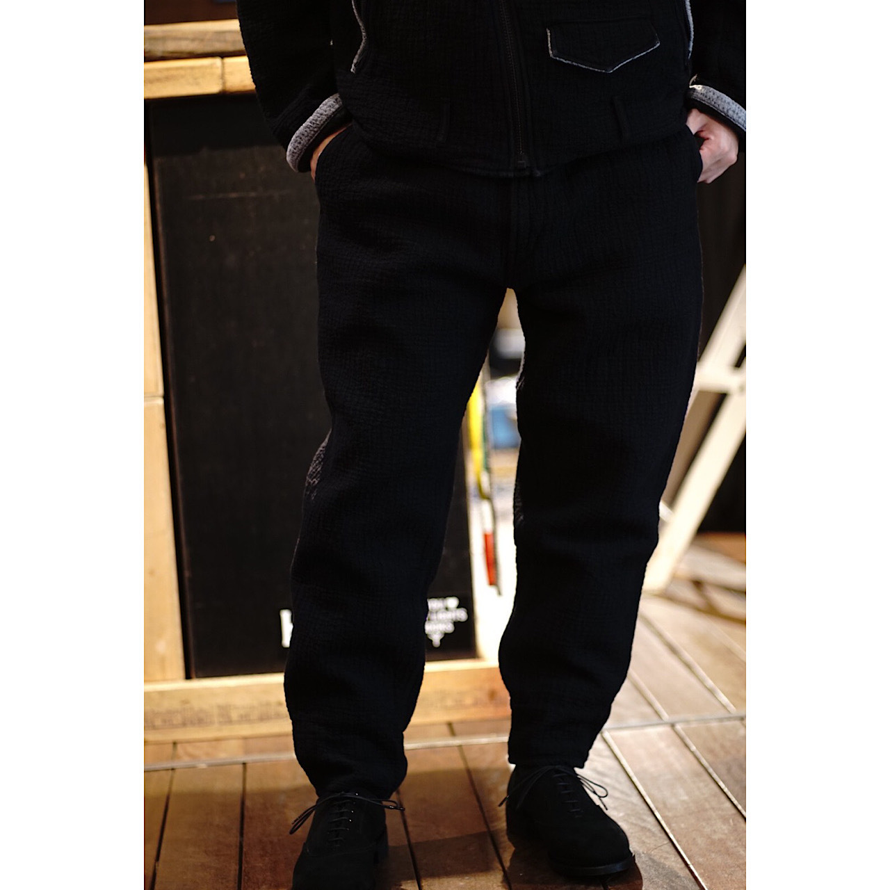 PC SASHIKO ORIGINAL GREASE PANTS