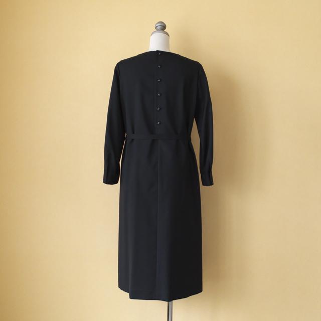 atelier naruse アトリエナルセ  ブラックフォーマル Aラインワンピースドレス
