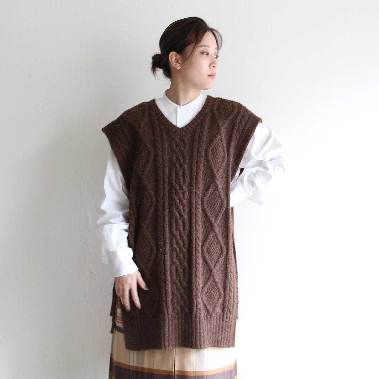 WRYHT【 womens 】 fisherman square knit