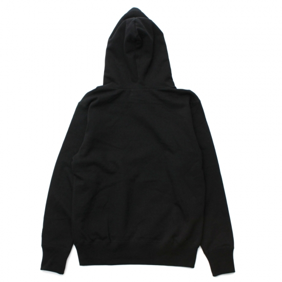 BOX LOGO PULL PARKA #BLACK