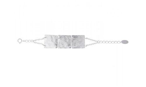 Sea'ds mara/シーズマーラ Square plate bracelet 21A1-05