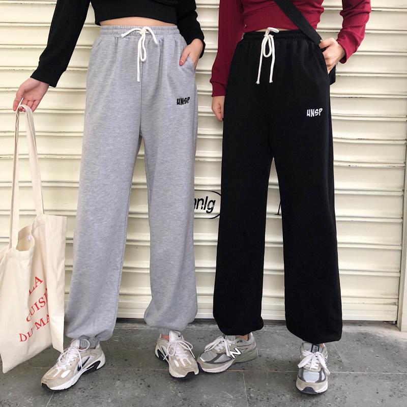 ワンポイントスウェットパンツ 韓国レディースファッション通販 Krex ケーレックス