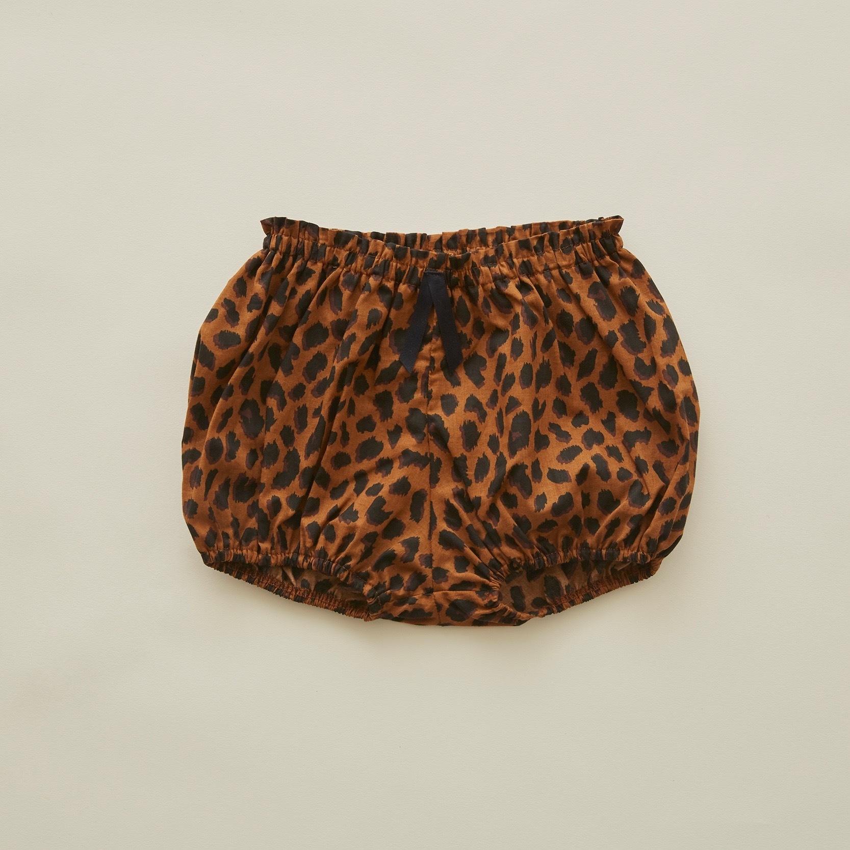 《eLfinFolk 2020SS》leopard bloomers / brown