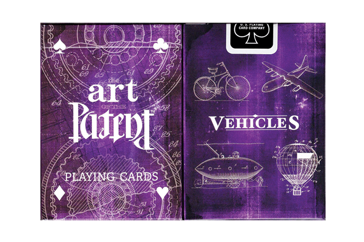 Limited Edition Art of the Patent (Vehicle) Playing Cards(訳あり)