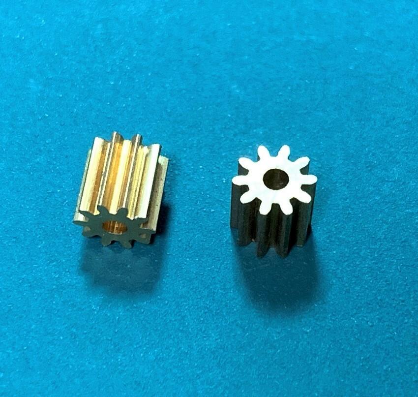 ◆K130 10T互換メタルピニオンギア 2個セット(ネオヘリでM2購入者のみ購入可)