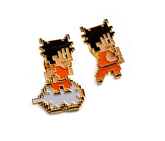 ドラゴンボール 神龍の謎/ピンズセットC (悟空(筋斗雲)&悟空(カメハメ波))/DotLike