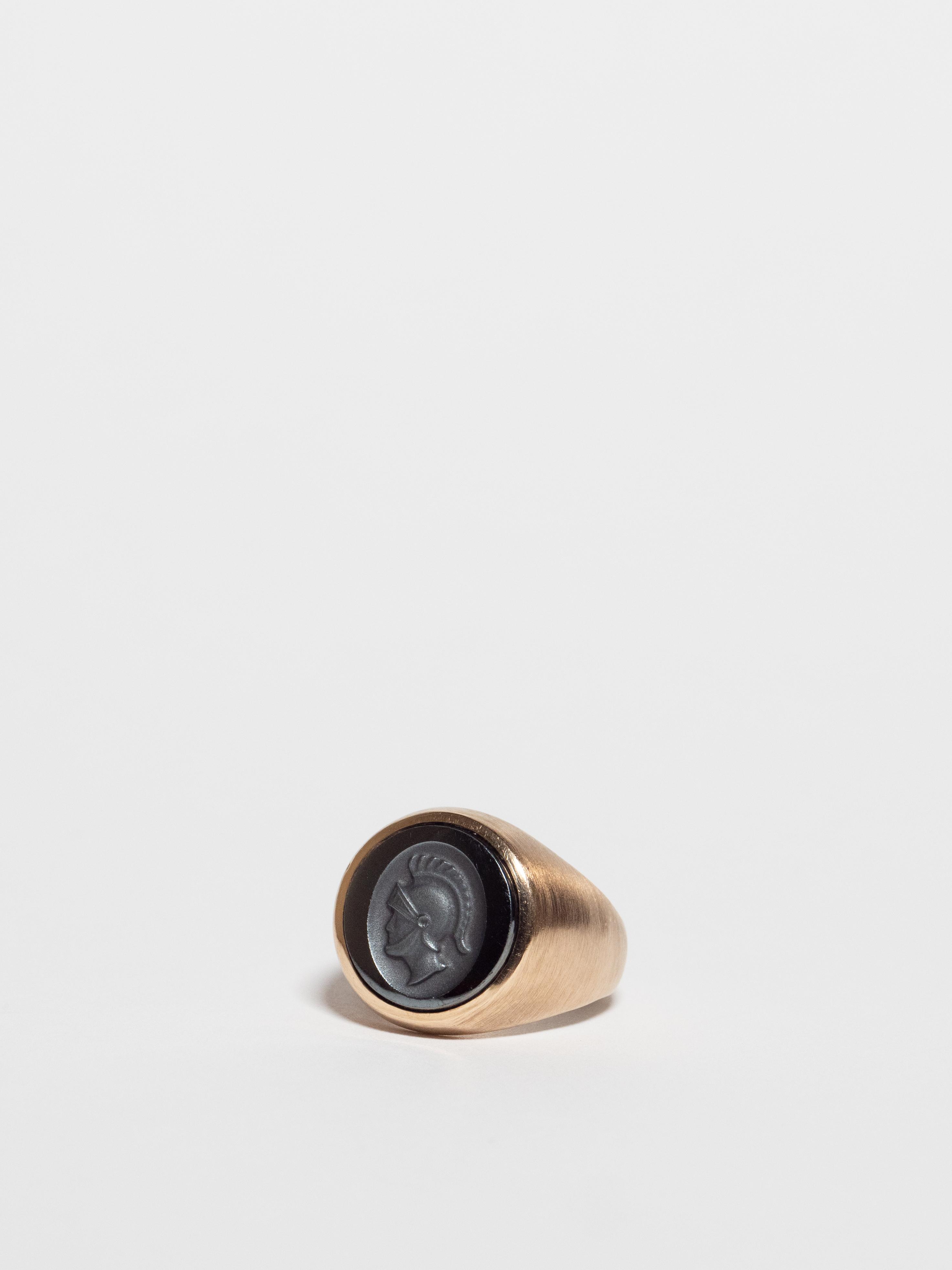 Knight Cameo Ring / America
