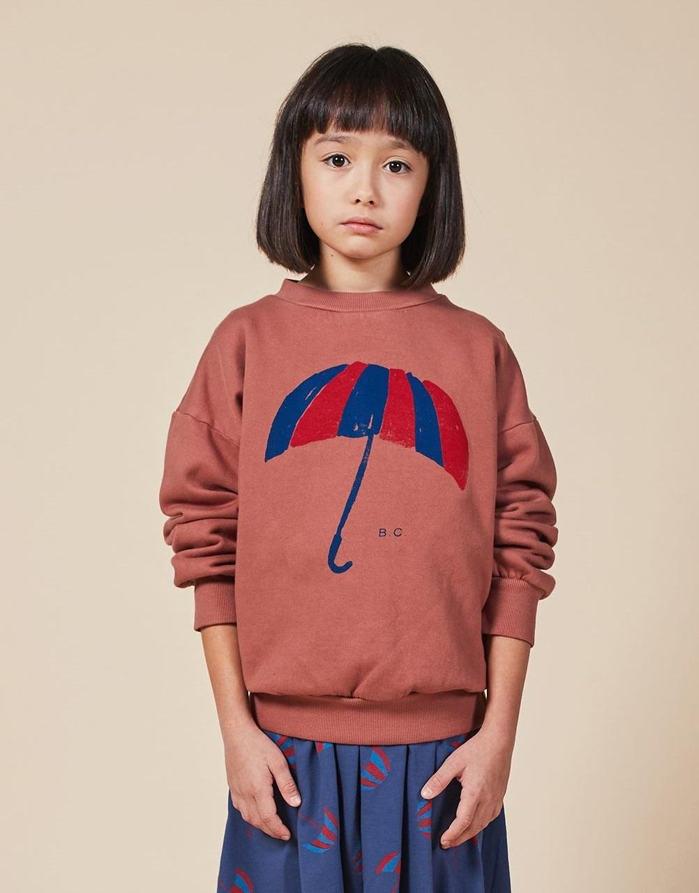 BOBO CHOSES ボボショセス Umbrella Sweatshirt size:2-3Y(100)~6-7Y(120)