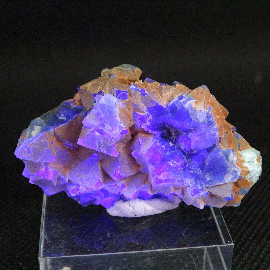自主採掘!カリフォルニア産 フローライト 蛍石 原石 30,7g  FL165 鉱物 天然石 パワーストーン