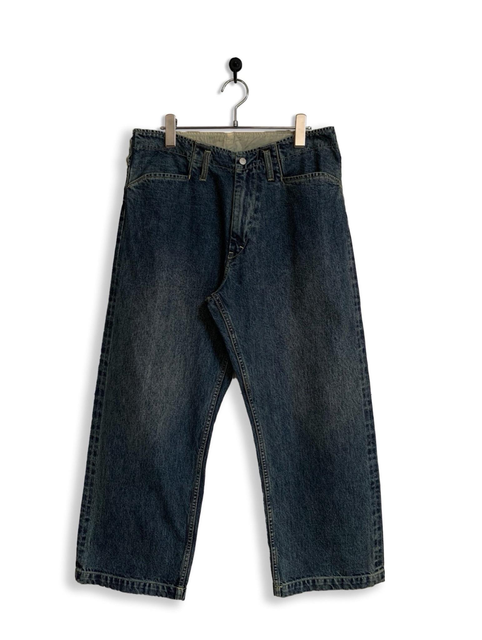 12.5oz Denim Frisco Pants / special wash / dark