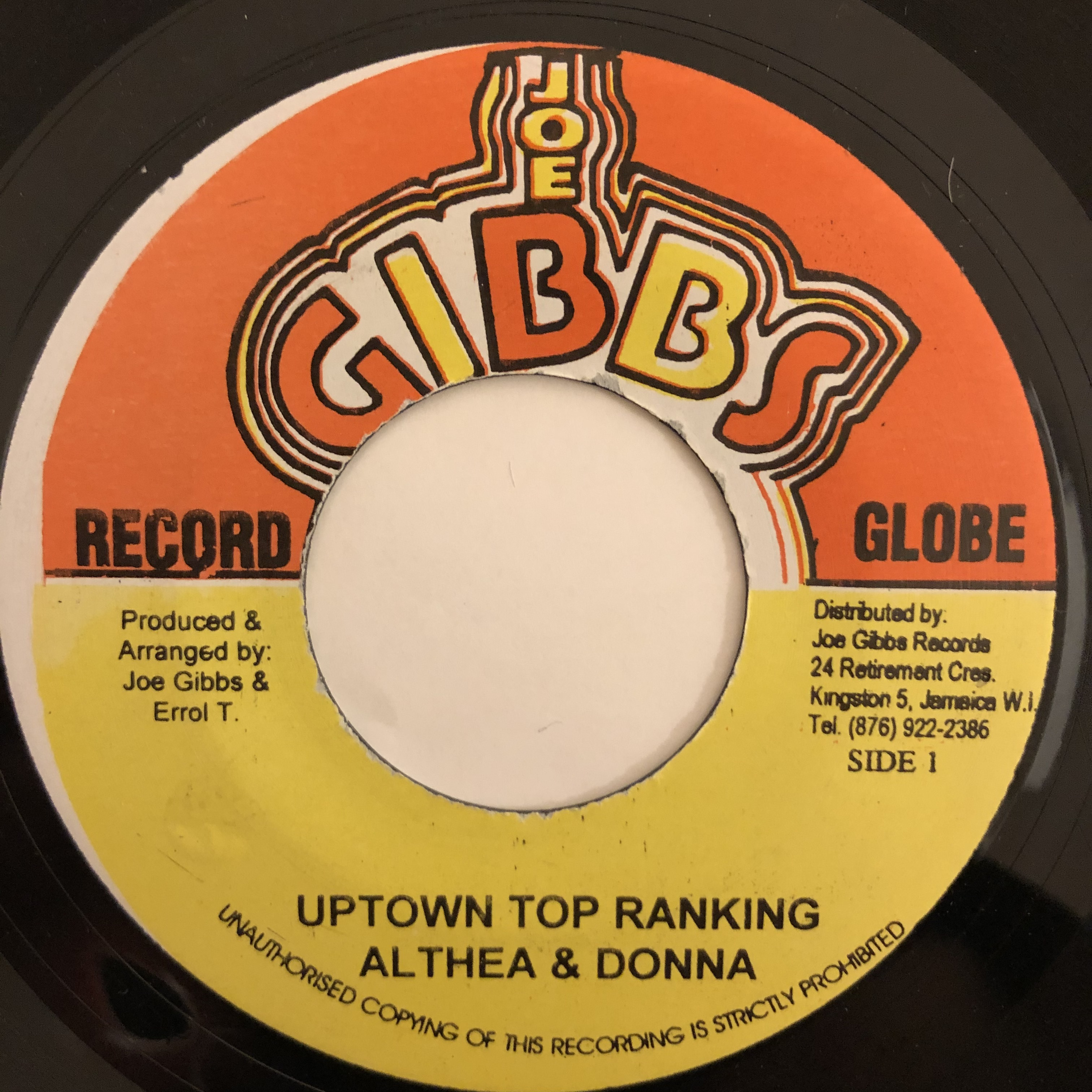 Althea & Donna - Uptown Top Ranking【7-20463】
