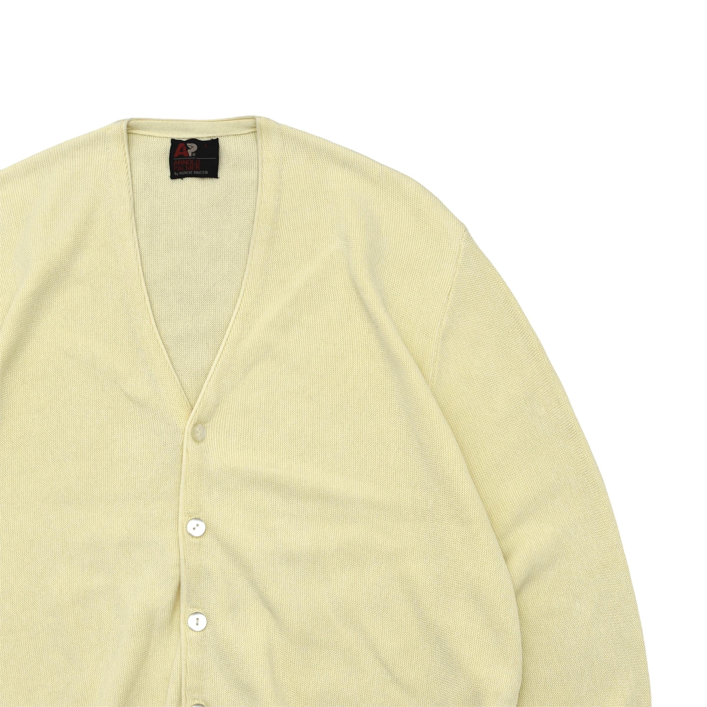 90's Arnold Palmer cotton knit cardigan