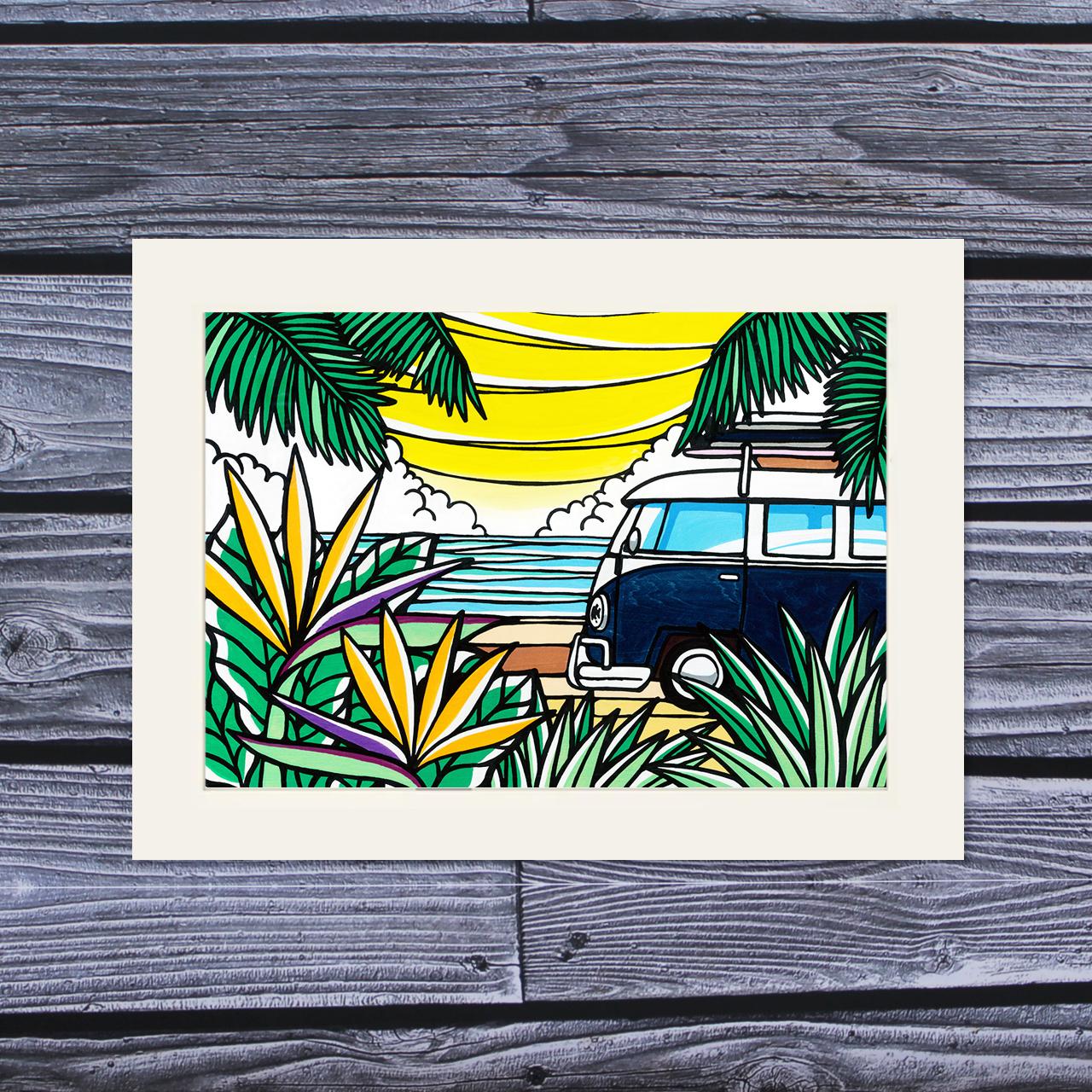 アートプリント A4(Van of Paradise)