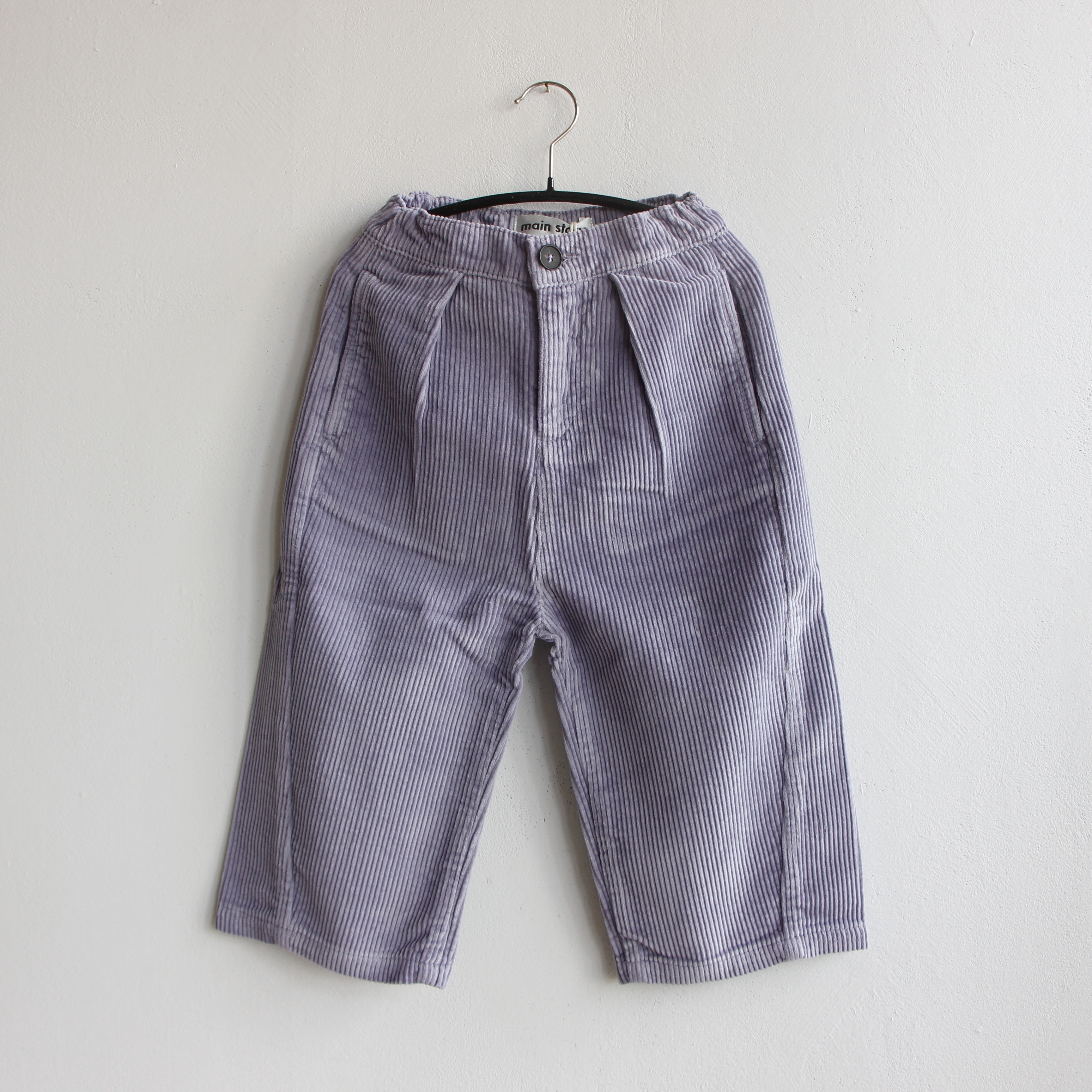 《main story 2021AW》Barrel Pant / Silver Mist