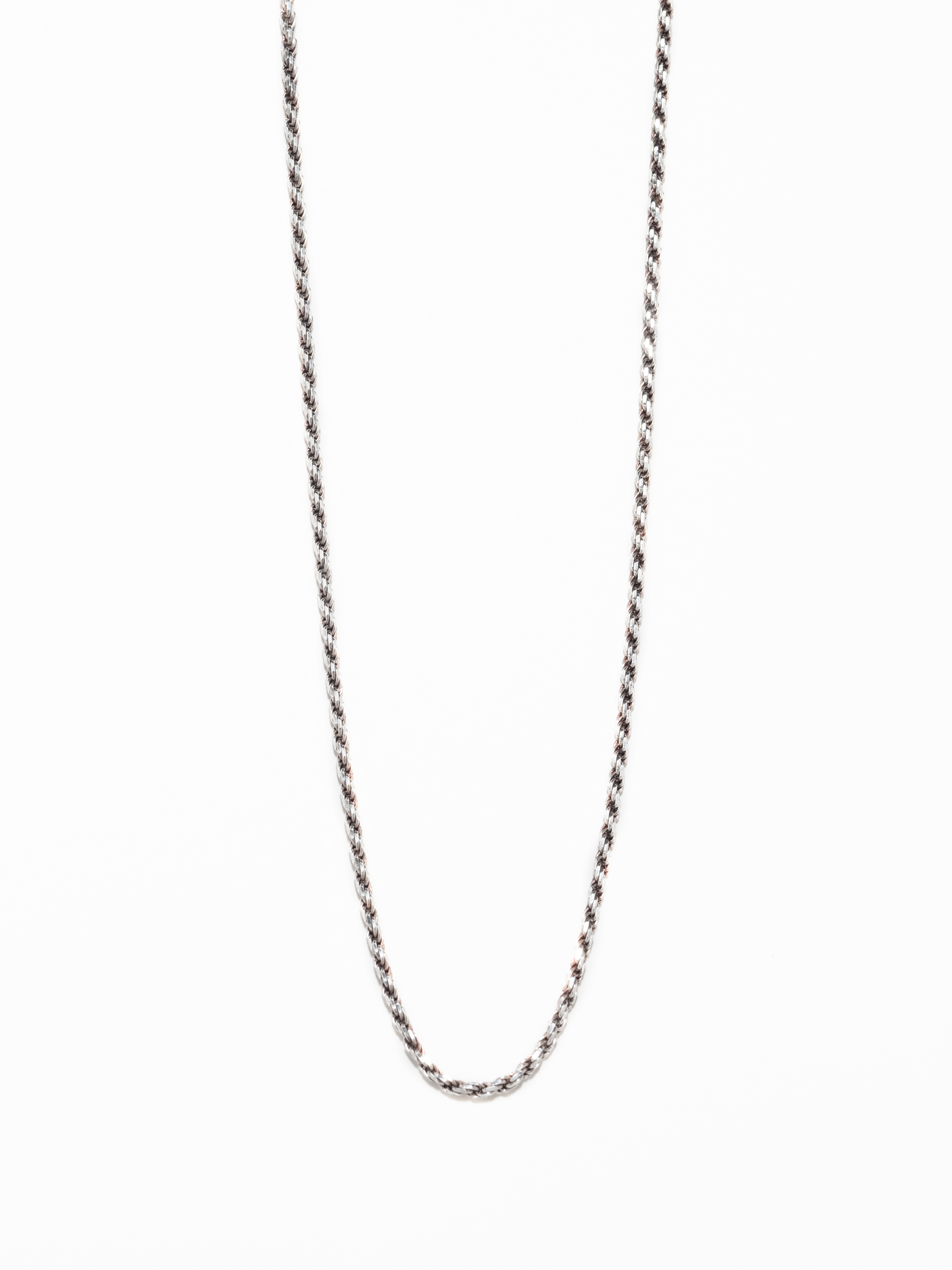 Long Chain Link Necklace / Italy