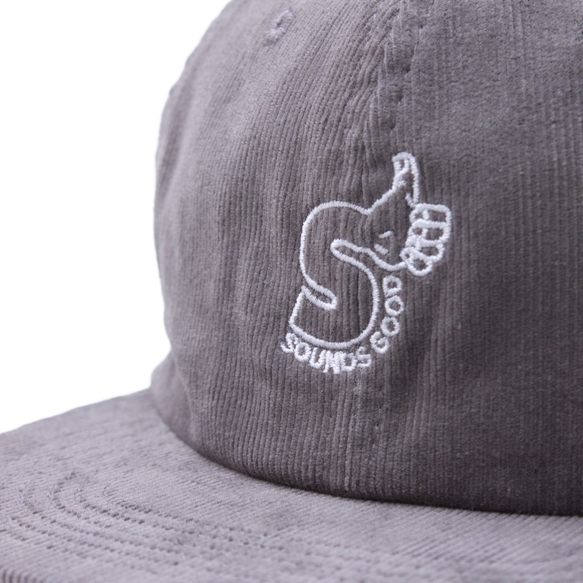 SOUNDS GOOD CORDUROY CAP #BLACK