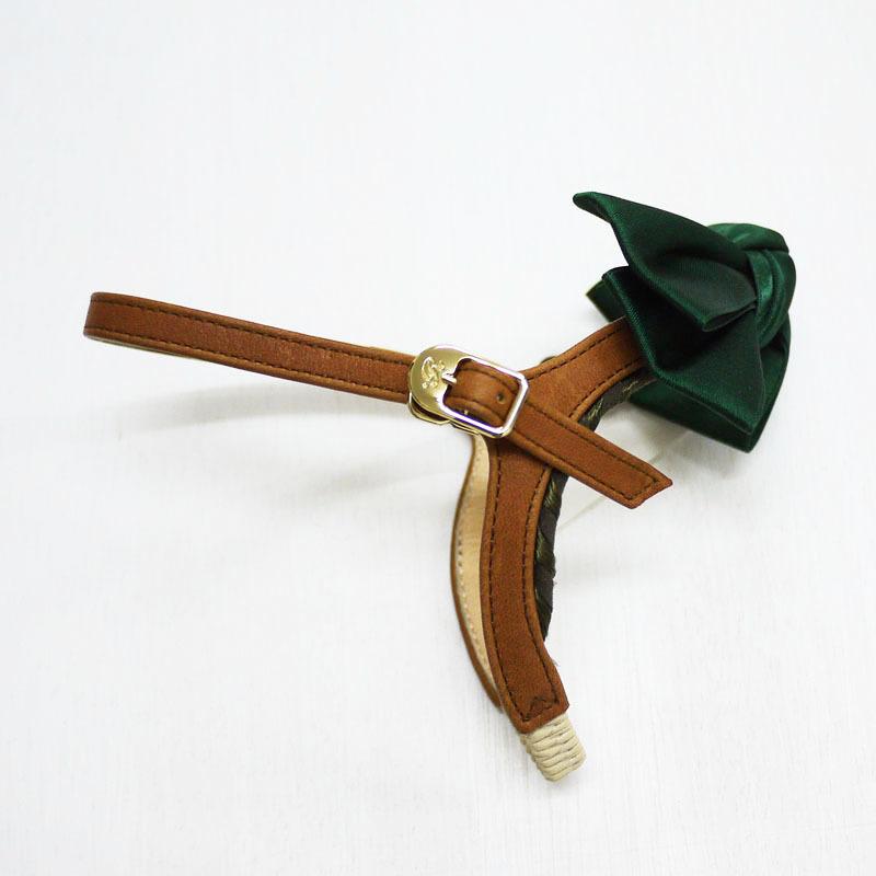 Type SP003 GREENサテンリボン:シューループ