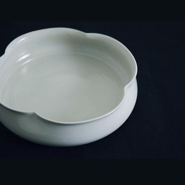 三浦ナオコ Naoko Miura 6寸輪花深皿
