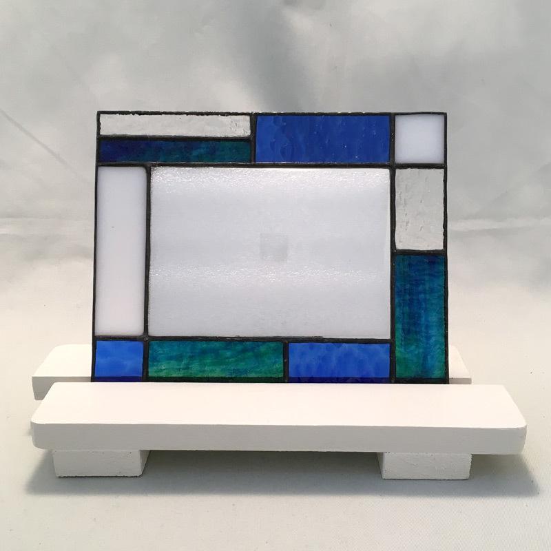 YY015 スクエアーミラー (ブルー)