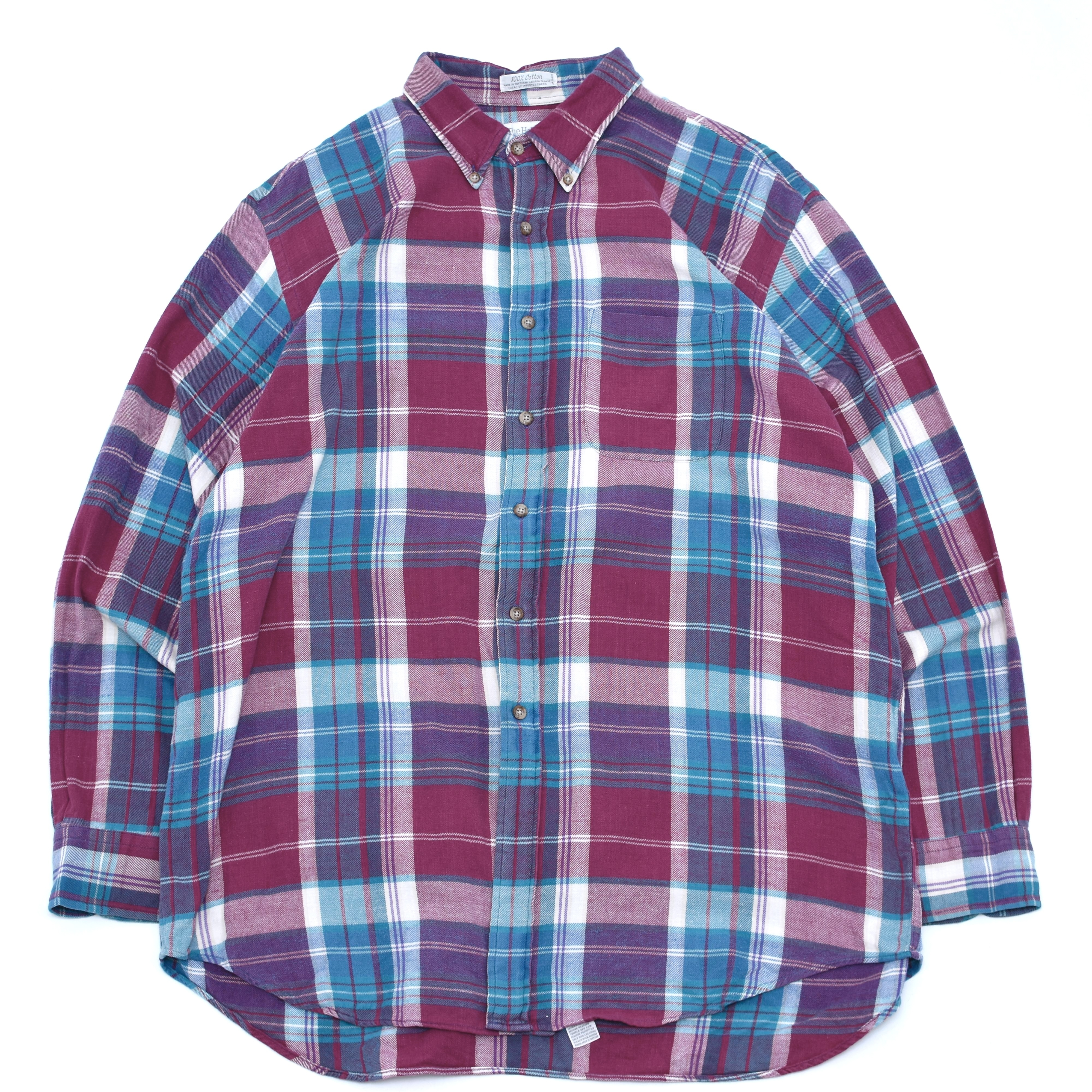 90's The Holbrook.co flannel check shirt