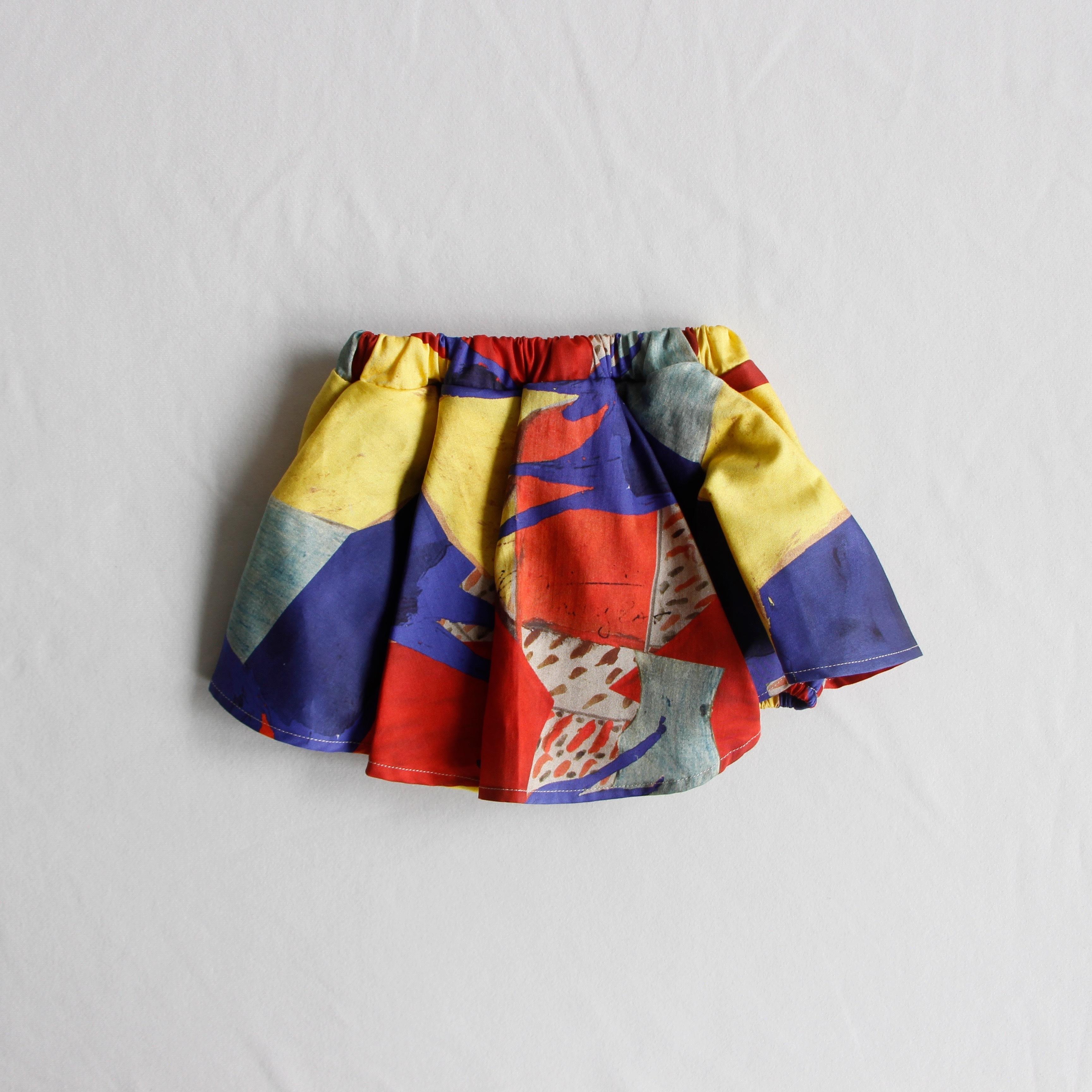 《WOLF & RITA 2020AW》LUISA shorts / yellow scene