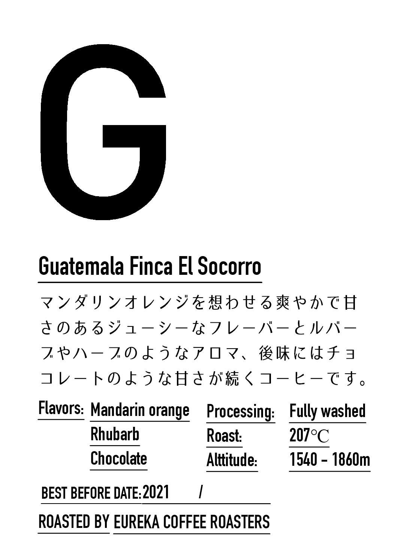 【中煎り】グアテマラ /エルソコッロ農園