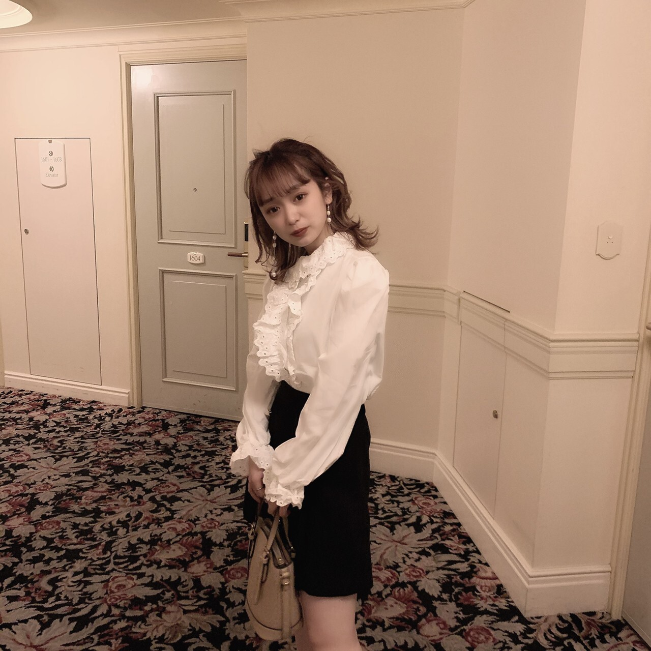 【meltie】classical girly blouse