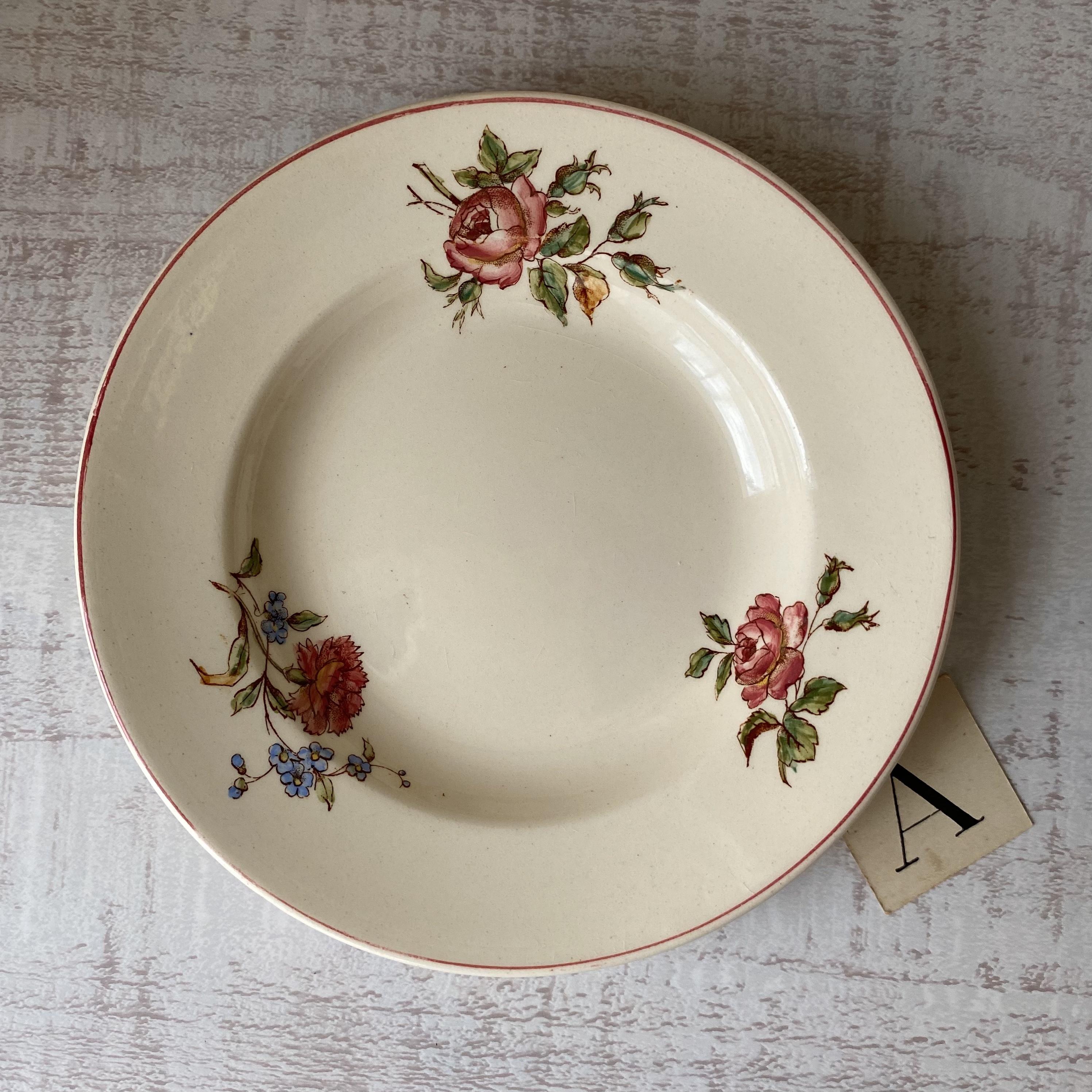 Longchanp 花柄ままごとスーププレート /aa0120